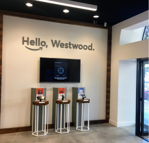 Picture of Amazon Hub Locker+ Westwood Village